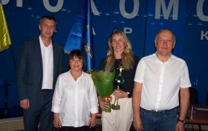 Харьковские спортсменки по синхронному плаванию получили награды