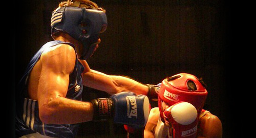 Харьковские боксеры поспорили за путевки на чемпионат Украины