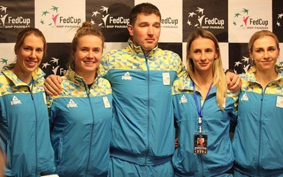 Харьковский матч Кубка федерации выиграла сборная Украины!
