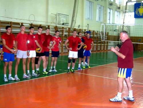 Волейболисты «Юракадемии» готовятся к новому сезону