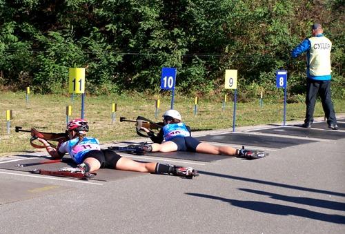 В масс-старте чемпионата Украингы по летнему биатлону харьковчане медалей не завоевали