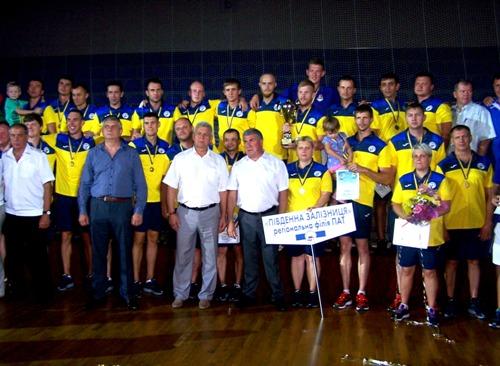 Спортсмены Южной железной дороги победили в ХІІ Спартакиаде железнодорожников ПАТ «Укрзалізниці»