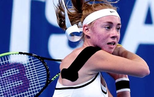 Дарья Лопатецкая вышла в полуфинал юниорского открытого чемпионата США