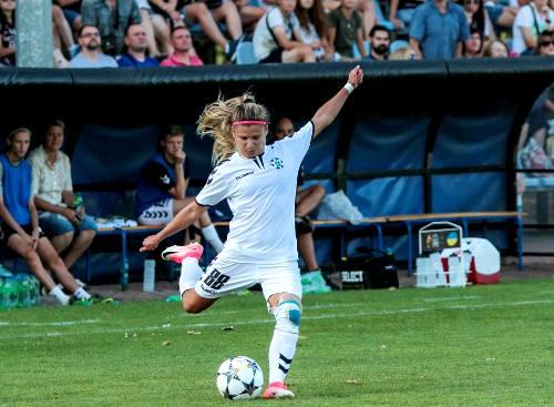 «Жилстрой-1» проиграл в первом матче 1/16 финала Лиги чемпионов