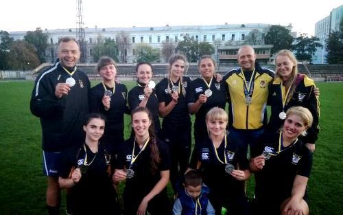 Серебро харьковской женской команды «ХТЗ-Олимп» на чемпионате Украины по регби-7