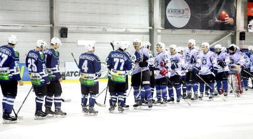 Харьковские динамовцы взяли реванш у «Ледяных Волков» за поражение в первом круге