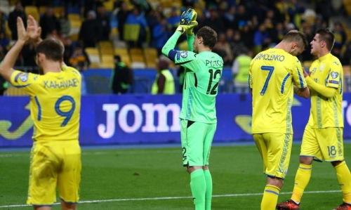Сборная Украины по футболу в Харькове победила Чехию 1:0