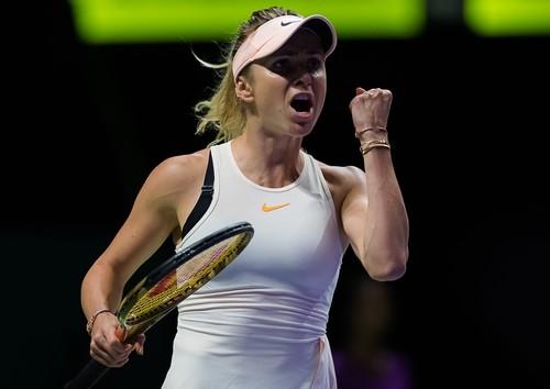 Элина Свитолина победила в первом матче итогового турнира WTA в Сингапуре