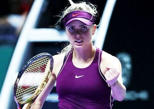 Харьковская теннисистка Элина Свитолина добилась второй победы на итоговом турнире WTA