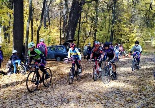 В Кропивницком состоялся чемпионат Украины по велосипедному кроссу