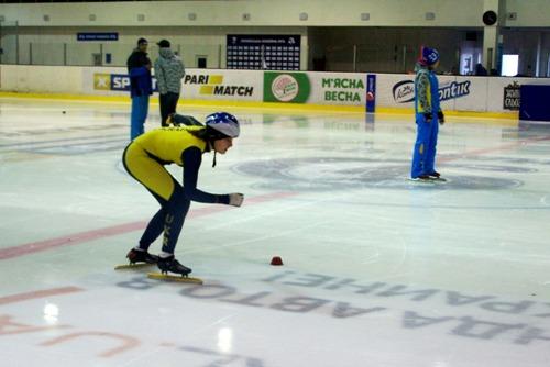 Харьковчане Никита Немиро и Мария Долгополова выступят на первом этапе Кубка мира по шорт-треку