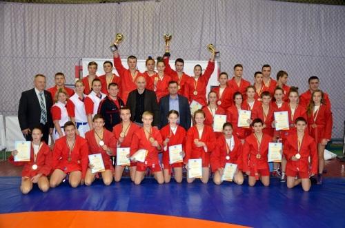 15 медалей харьковских самбистов на чемпионате Украины