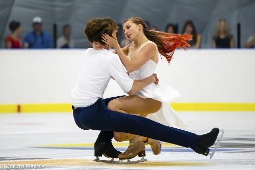 Фигуристы Дарья Попова и Владимир Беликов стали бронзовыми призерами на турнире в Риге