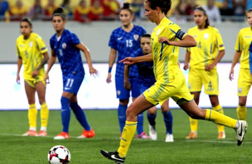 Девять харьковчанок сыграли за женскую сборную Украины по футболу