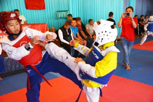 Визит спортсменов тхэквондо Китайской Народной Республики в Харьков. Август 2018 года