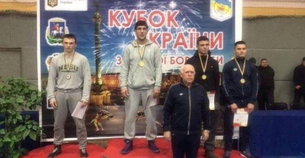 Харьковские борцы стали чемпионами Украины.
