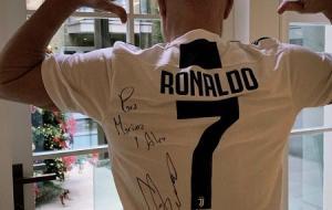 Роналду поздравил Ярославского с днем рождения