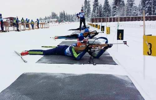 Юрий Сытник занял 5 место в спринте на чемпионате Украины по биатлону