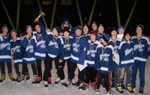 В рождественском хоккейном турнире победила харьковская команда СДЮСШОР-2005