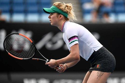 Элина Свитолина стартовала с победы на открытом чемпионате Австралии по теннису