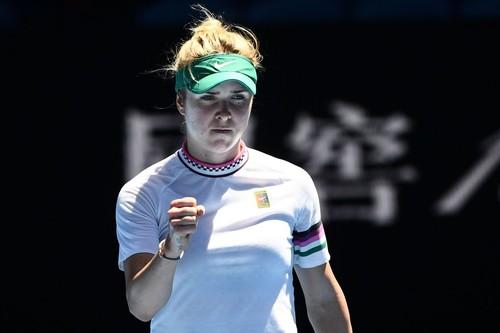 Харьковчанка Элина Свитолина одержала третью победу на открытом чемпионате Австралии