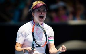 Второй год подряд Элина Свитолина вышла в четвертьфинал открытого чемпионата Австралии