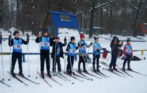 Состоялся первый зимний юношеский чемпионат Харьковской области по биатлону со стрельбой из пневматических винтовок