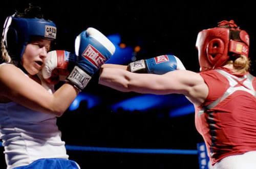 Юлия Цыплакова стала чемпионкой Украины по боксу среди женщин