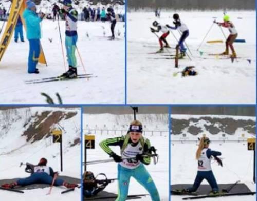 Юные харьковские биатлонисты завоевали 8 медалей на соревнованиях в Сумах
