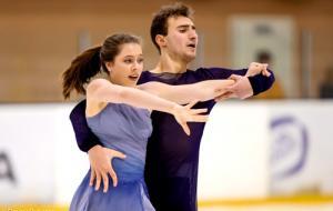Дарья Попова и Владимир Беликов - чемпионы Украины среди юниоров
