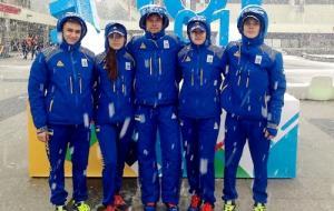 Юные харьковские мастера шорт-трека пробились в полуфинал микст-эстафеты
