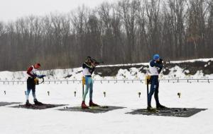 Харьковчане завоевали две первые медали на Всеукраинских юношеских соревнованиях по биатлону