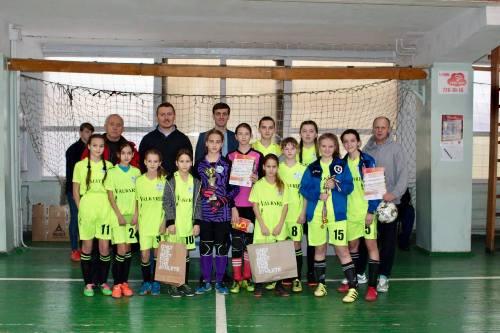 Турнир по футзалу среди девочек выиграла команда из Андреевки Балаклейского района