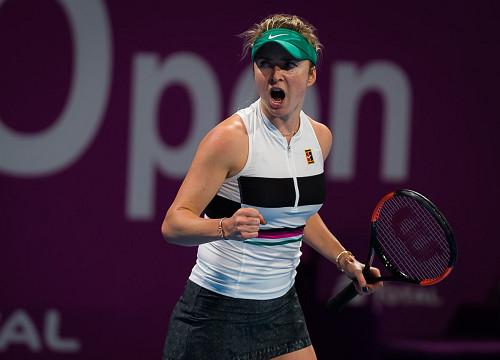 Элина Свитолина в полуфинале турнира в Катаре уступила Симоне Халеп