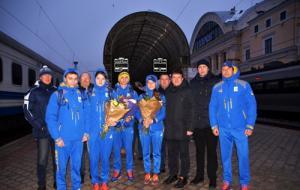 В Харьков вернулись участники Европейского юношеского олимпийского фестиваля