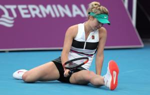 Свитолина не смогла защитить титул на турнире в Дубае