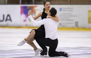 Александра Назарова и Максим Никитин выиграли соревнования в Израиле