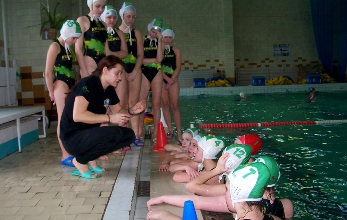 Сборная Харьковской области стала серебряным призером чемпионата Украины по водному поло