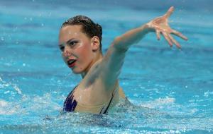 Четыре медали харьковских синхронисток на этапе Мировой серии в Париже