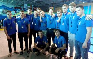 Сборная Украины U-15 по водному поло стала бронзовым призером турнира в Тбилиси