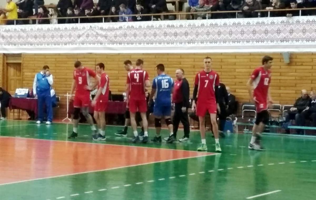 «Юракадемия» уступила в первом матче серии за 3 место ВК «МХП-Винница»