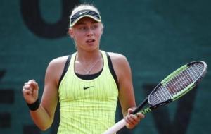 Дарья Лопатецкая уступила в финале теннисного турнира в Италии