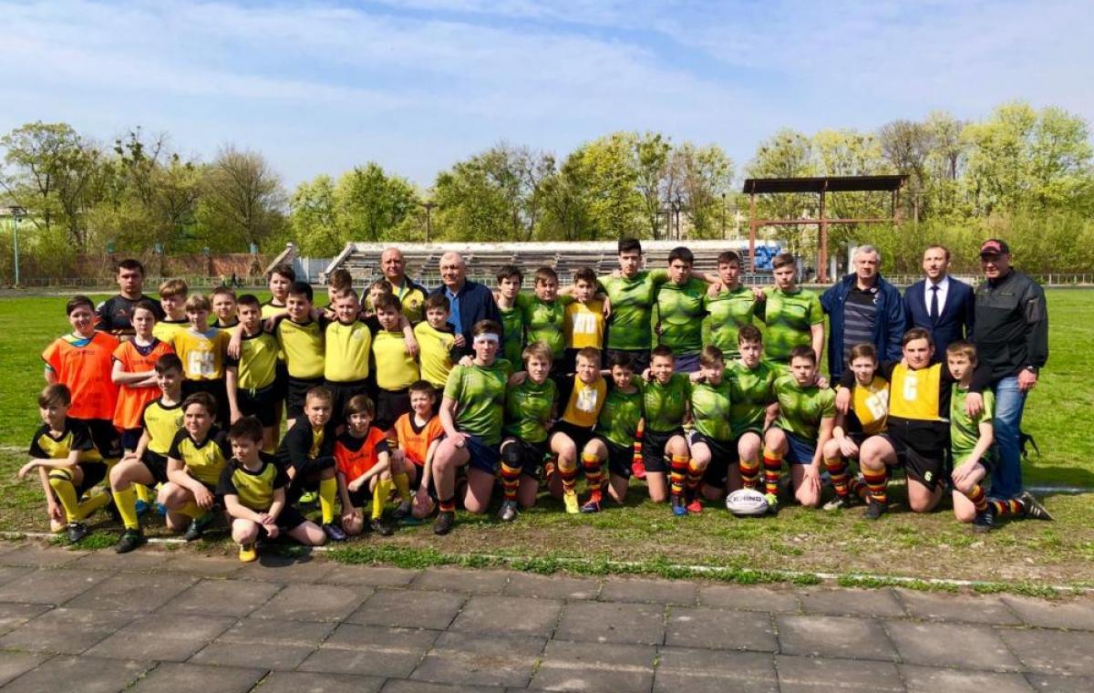 В Харькове состоялся отборочный тур чемпионата Украины по регби-15 среди юношей U12 и U15 (Восточная зона)