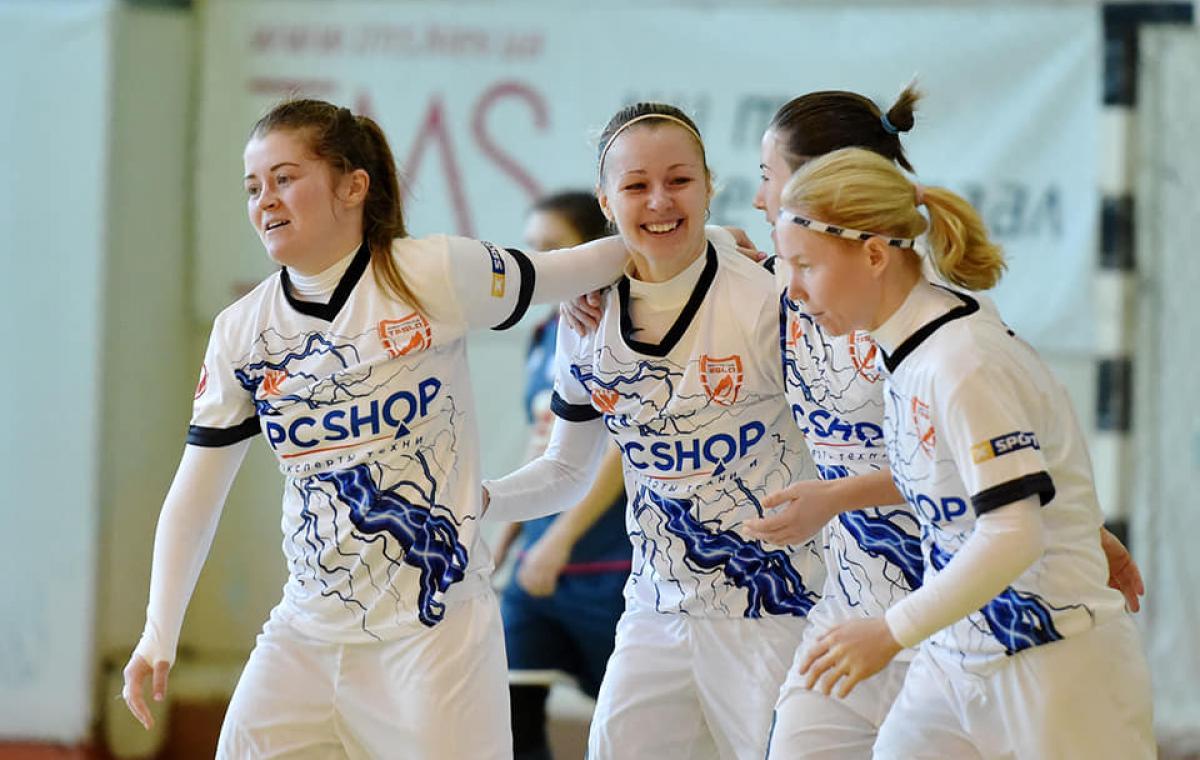 Смотрите трансляцию матча Кубка Украины по футзалу среди женщин