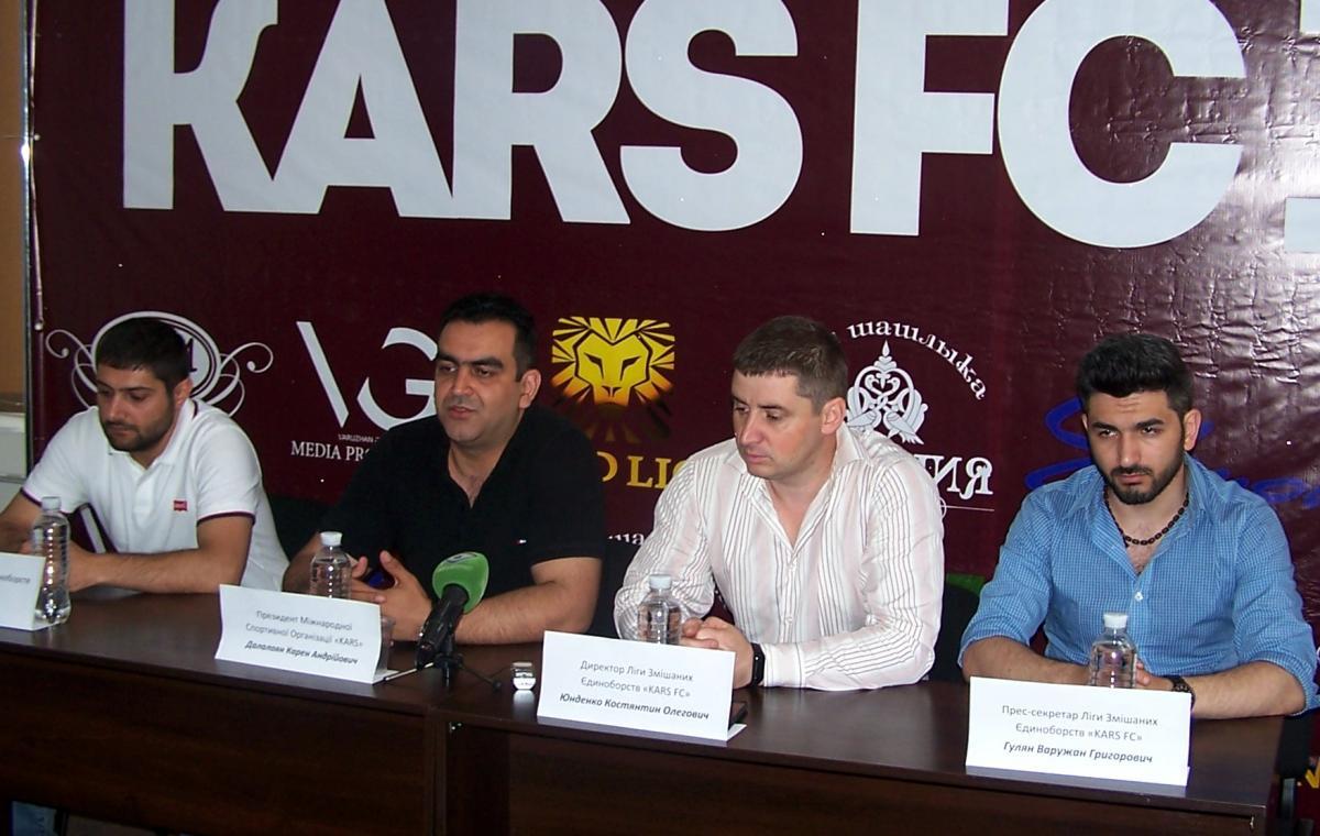 Программа «Харьков спортивный» о пресс-конференции, посвященной проведению в Харькове международного турнира по ММА «КАРС-10»