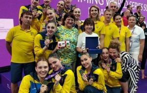 8 медалей харьковских спортсменок на Суперфинале Мировой серии по артистическому (синхронному) плаванию