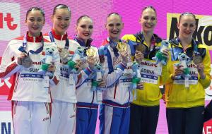 Анастасия Савчук и Марта Федина - бронзовые призеры чемпионата мира