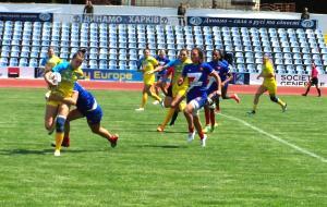 В Харькове начались игры женского чемпионата Европы по регби-7