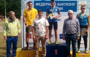 Еще две медали в активе харьковских биатлонистов Александра Пономаренко и Любы Кипяченковой