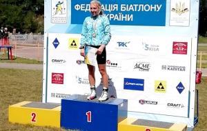 Второе золото Любы Кипяченковой на чемпионате Украины в Чернигове